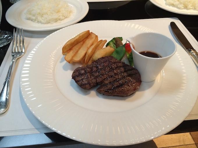 ステーキ3500円(税込)