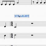 """【musescore2】曲中で""""リズム""""を変えたいときの設定方法〜スウィングとストレートを交互に使おう!〜"""