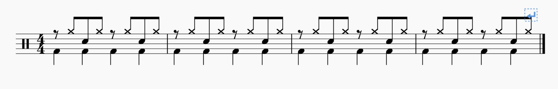 【ドラム】魅惑の8ビートテクニック〜ハイハットヌキヌキ〜