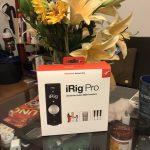 【アカペラ】iRig Proを買ってきた!