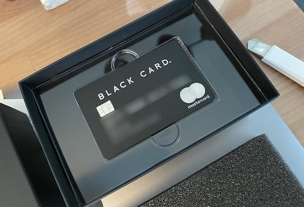 【レビュー】Luxury Card Blackを発行してみた〜自粛期間に得られるメリットあんの?〜
