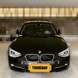BMW 116i – 高速道路の走行