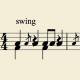 【音楽】僕なりのShuffleとSwingのリズムのとり方の違い