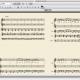 【musescore】楽譜を1段に4小節ずつ表示する方法。